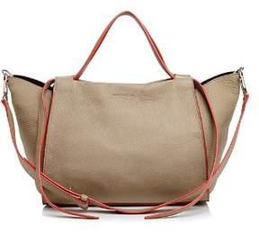 Elena Ghisellini Usonia Medium Leather Satchel