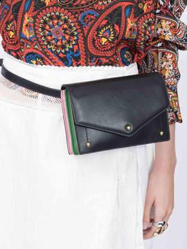 Sara Battaglia Plisse marsupio waist bag