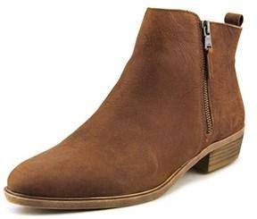 Lauren Ralph Lauren Shira Women Round Toe Leather Brown Ankle Boot.
