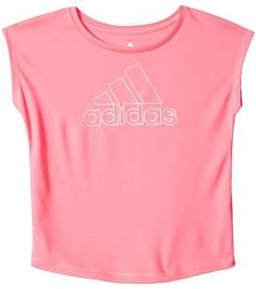 adidas Kids Graphic Tee Girl's T Shirt