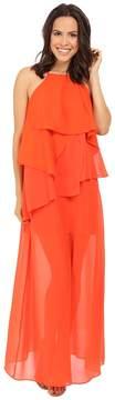 Adelyn Rae Ruffled Maxi Women's Dress