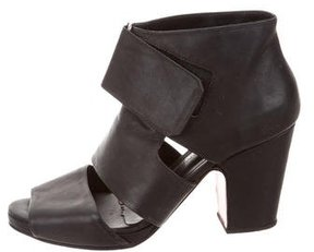 Rachel Comey Leather Cutout Booties