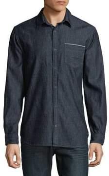 Calvin Klein Jeans Long Sleeve Premium Oxford Button-Down Shirt