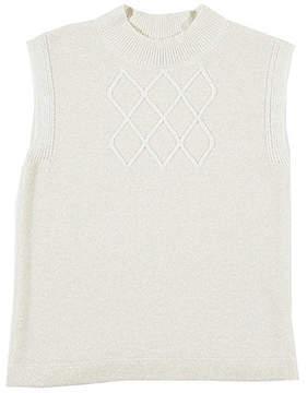 Nautica Girls' Sleeveless Sweater (8-16)