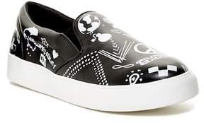 Mia Octavia Printed Platform Slip-On Sneaker