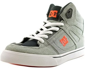 DC Spartan High Tx Round Toe Canvas Skate Shoe.