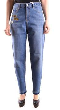 Love Moschino Men's Blue Cotton Jeans.