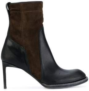 Haider Ackermann high heels ankle boots