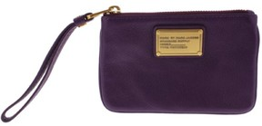 Marc by Marc Jacobs Womens Leather Lined Wristlet Wallet - PANSY PURPLE - STYLE
