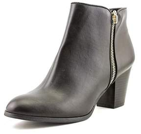 Style&Co. Style & Co. Womens Jamila Leather Round Toe Ankle Cowboy Boots.