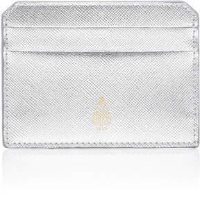 Mark Cross Metallic Saffino Leather Card Case