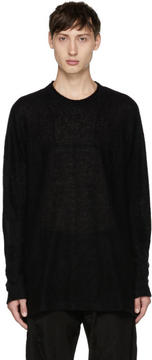 Julius Black Crewneck Sweater