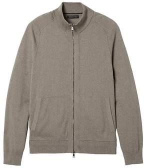 Banana Republic Pima Cotton Cashmere Full-Zip Sweater Jacket