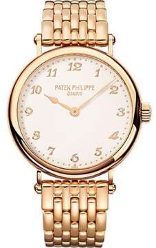 Patek Philippe Calatrava 7200/1R-001 18K Rose Gold 34.6mm Womens Watch