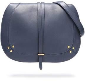 Jerome Dreyfuss Ring-Embellished Pebbled-Leather Shoulder Bag