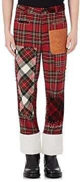 Loewe Men's Plaid Fisherman Trousers