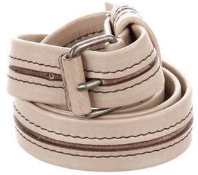 Lanvin Skinny Leather Belt