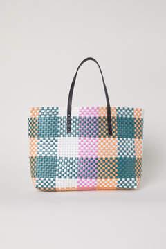 H&M Braided Shopper - Green