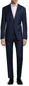 Ralph Lauren Sharkskin Wool Slim-Fit Suit