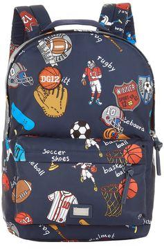 Dolce & Gabbana Sports Print Backpack