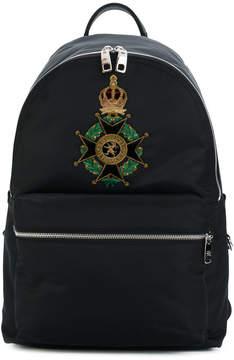Dolce & Gabbana Maltese cross Vulcano backpack