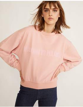 Cynthia Rowley | Welcome To Paradise Sweatshirt | L | Neutral