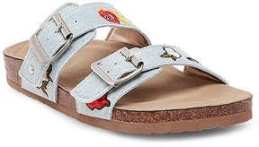 Madden-Girl Women's Brando Patch Flat Sandal