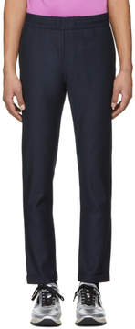 Paul Smith Navy Elasticized Waist Trousers