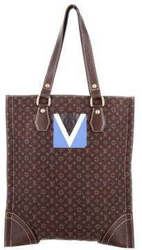 Louis Vuitton Mini Lin Tanger Tote - BROWN - STYLE