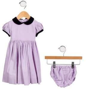 Oscar de la Renta Girls' Wool Dress Set