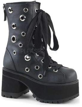 Demonia Women's Ranger 310 Platform Lace-Up Boot
