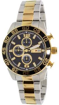 Invicta Men's Specialty 1015 Gold Stainless-Steel Swiss Chronograph Dress Watch