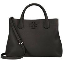 Tory Burch Women's Black Leather Handbag. - BLACK - STYLE