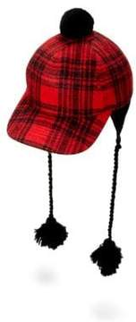 Gucci Pompom Plaid Cap