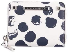 Rebecca Minkoff White Moon Mini Ava Zip Wallet - PATTERN PRINTS - STYLE