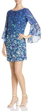 T Tahari Tindra Floral-Print Shift Dress