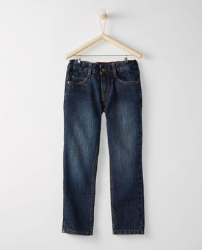 Hanna Andersson Flannel Lined Five Pocket Slim Jeans
