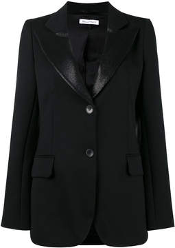 Bella Freud isaacs blazer with satin lapel