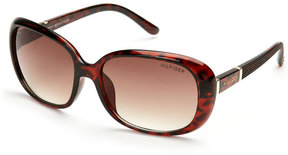 Tommy Hilfiger Tortoiseshell-Look Shoshanna Rectangular Sunglasses