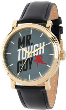 Disney The Incredibles 2 Mens Black Strap Watch-Wds000581
