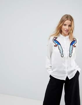 B.young Bird Morif Shirt