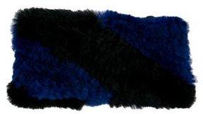 Adrienne Landau Fur Knit Headband w/ Tags