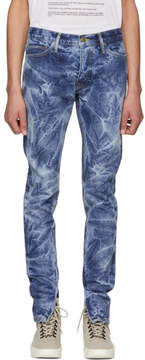 Fear Of God Indigo Selvedge Holy Water Jeans