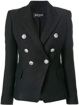 Balmain button-embellished blazer