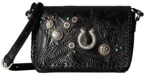 American West Lariat Love Crossbody Flap Bag/Wallet Cross Body Handbags