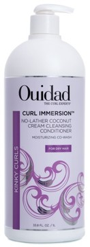 Ouidad Curl Immersion(TM) No-Lather Coconut Cream Cleansing Conditioner