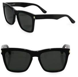Saint Laurent SL 137 Devon 55MM Square Sunglasses