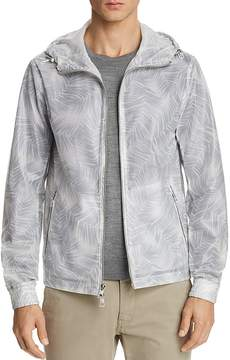 Michael Kors Tropical Print Hooded Jacket