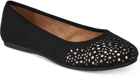 Style&Co. Style & Co Averlay Perforated Flats, Created for Macy's Women's Shoes