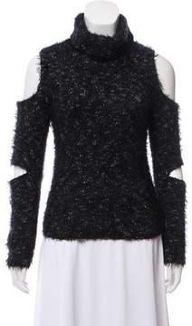 Jonathan Simkhai Textured Cutout Sweater
